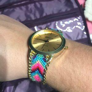 Friendship braid watch- works!
